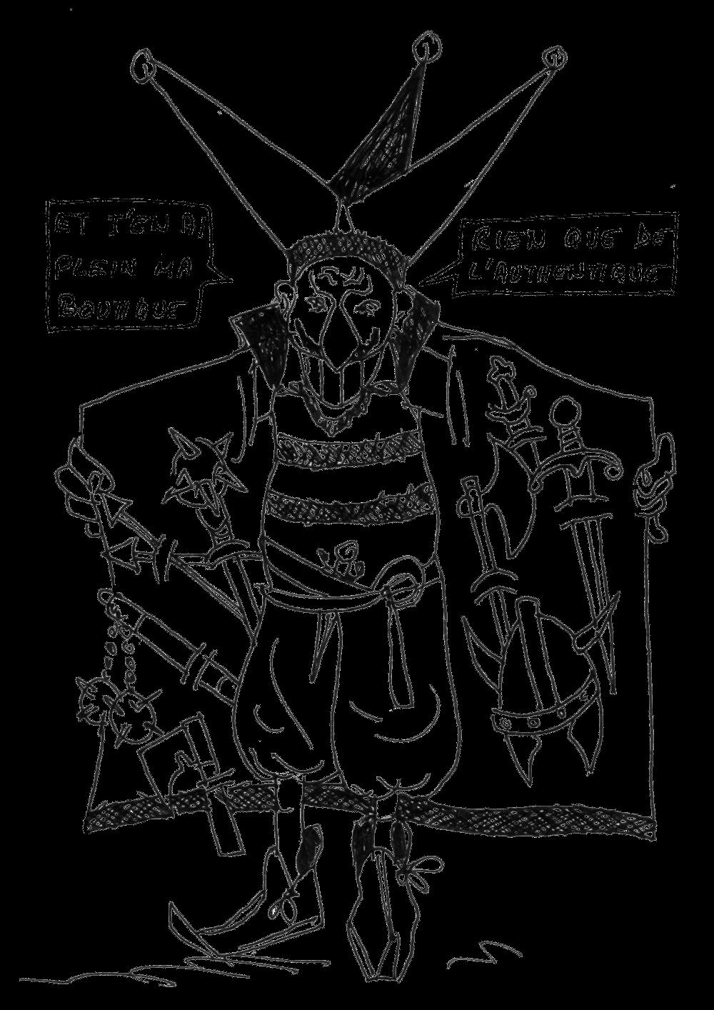 soldat mort dessin